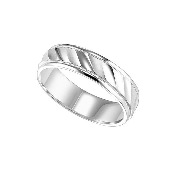 Shop our Frederick Goldman 11-6144 Wedding Bands at Anthony's Jewelers