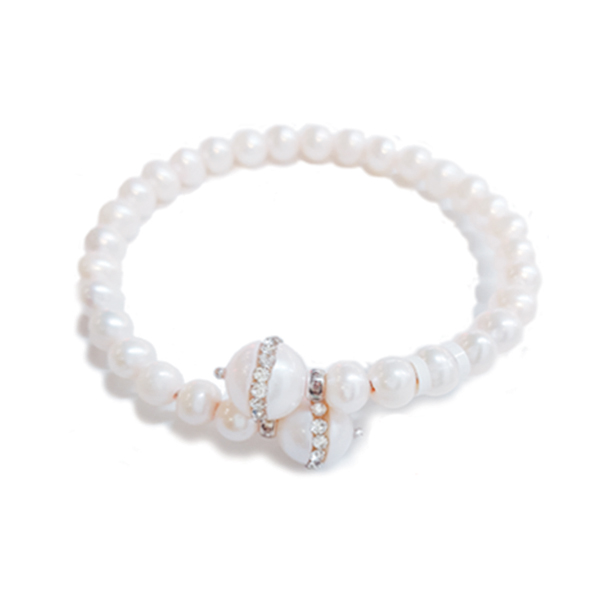 Anthony's Jewelers, pearl bracelet, pearls, bracelet, diamonds