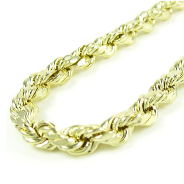 Anthony's Jewelers, Gold Rope Chain, rope chain, gold, jewelry, necklace