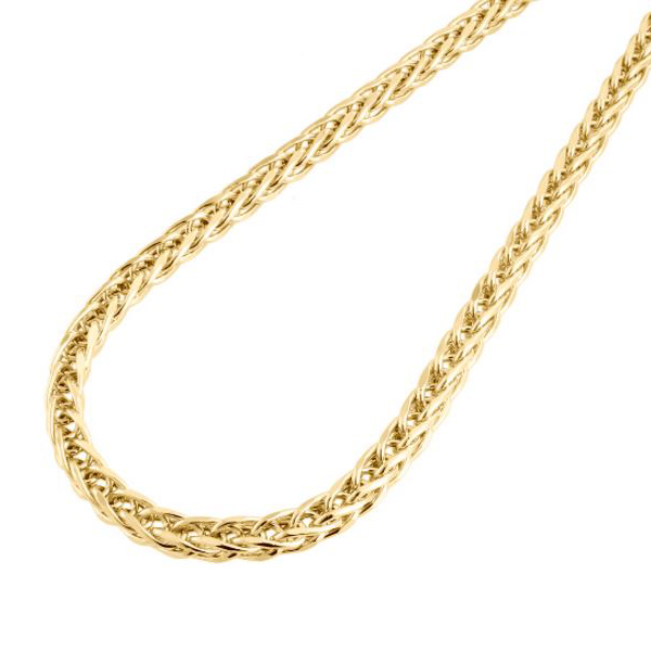 abdedb86e58fe 14 kt. Gold Wheat Chain