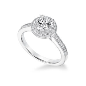 Shop our Frederick Goldman Engagement settings at Anthony's Jewelers