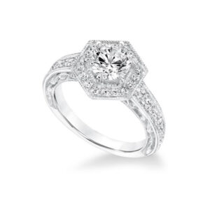 Shop our Frederick Goldman Engagement rings at Anthony's Jewelers