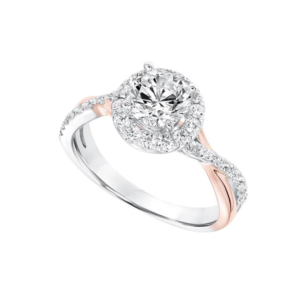 Shop our Rose Gold Frederick Goldman Diamond Engagement Settings at Anthony's Jewelers