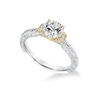 Shop our 14kt gold Frederick Goldman Diamond Engagement Settings at Anthony's Jewelers