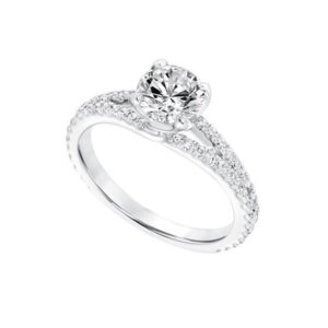 Shop our Frederick Goldman Engagement Setting at Anthony's Jewelers