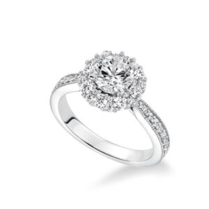 Shop our Frederick Goldman Diamond Engagement Settings at Anthony's Jewelers