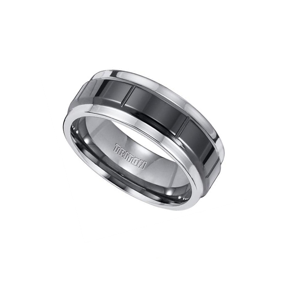 Shop our Tungsten Black Wedding Bands at Anthony's Jewelers