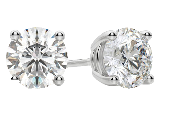 Diamond Stud Earnings at Anthony's Jewelers