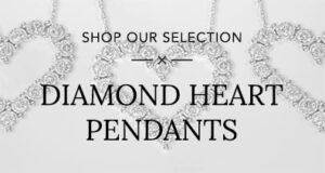 Diamond Heart Pendants Banner