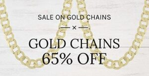 Gold Chains Banner